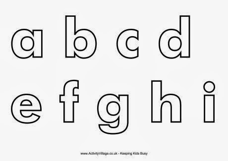 This is a picture of Universal Free Printable Lower Case Letters